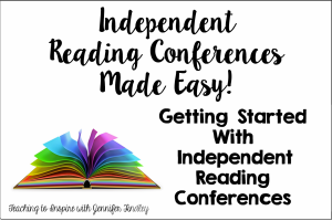 Independent Reading Conferences {A Guide to Getting Started}