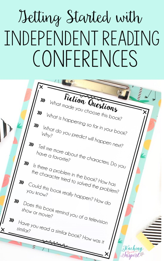 One of my favorite parts of reading is independent reading conferences. This post shares ideas and free forms to help get you started.