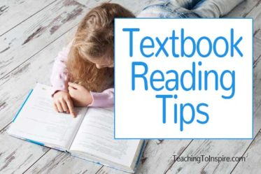 Textbook reading CAN be engaging. Read this post for some textbook reading tips to make your instruction engaging and comprehensible.