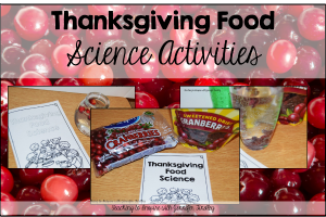Thanksgiving Science Activities {With Cranberries}