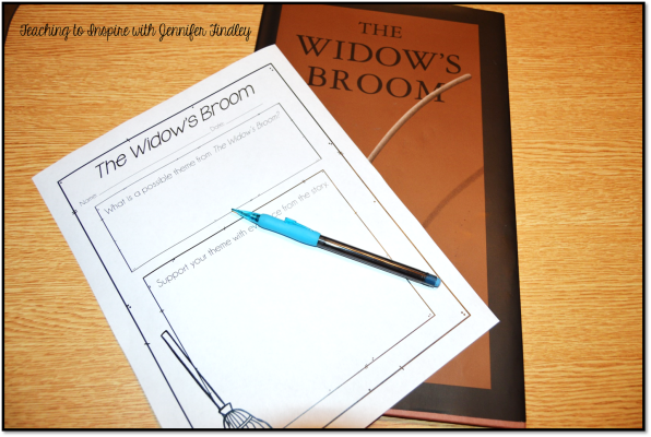 The Widow's Broom Activity