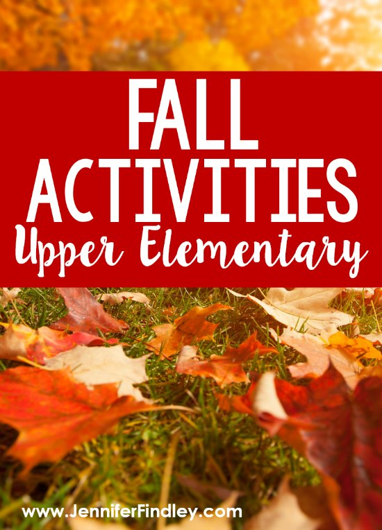 There are so many great learning opportunities in the fall! Check out this post for my favorite fall activities for grades 4-5, including math, science, and read alouds!