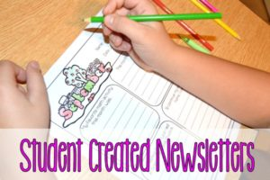 Student Created Newsletters (FREE Classroom Newsletter Templates)