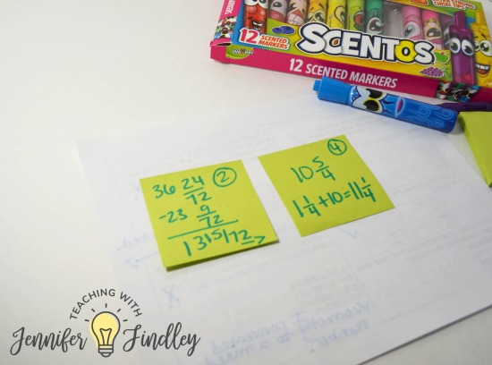 Use scentos or other smelly pencils to instantly engage your students in test prep. Have them fix incorrect answers with post it notes. Read more ways to engage your students in paper and pencil test prep review on this post.