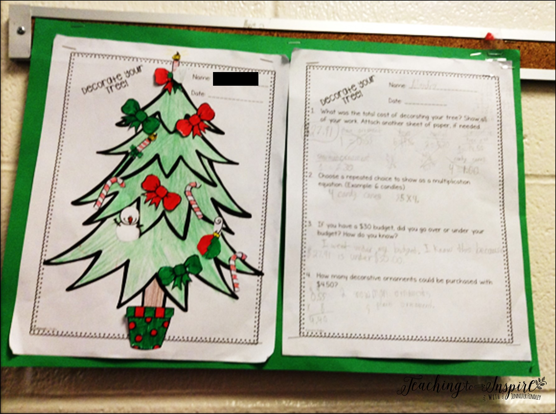 christmas activities for upper elementary teaching to inspire with jennifer findley. Black Bedroom Furniture Sets. Home Design Ideas