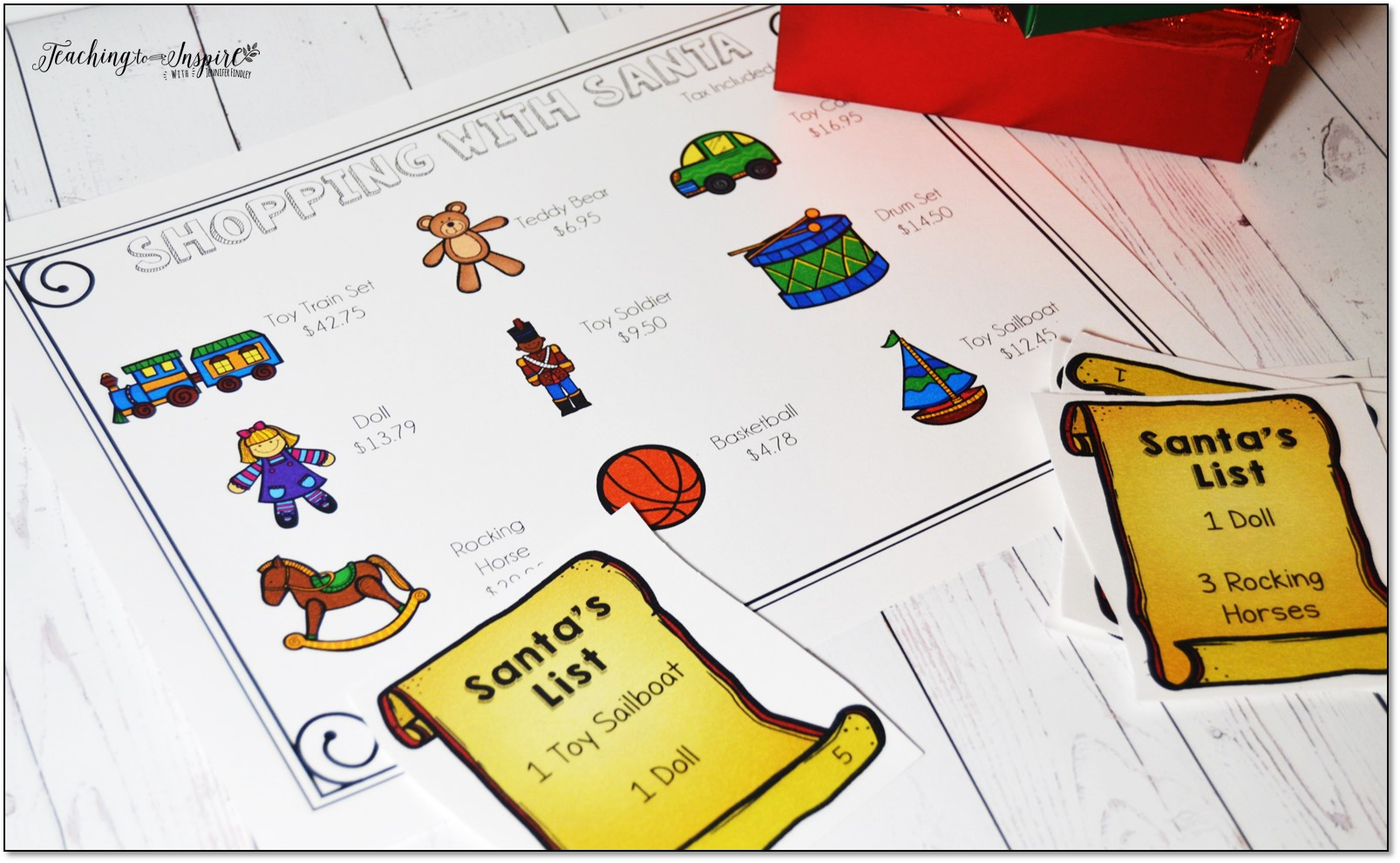 Christmas Activities for Upper Elementary - Teaching to Inspire with ...