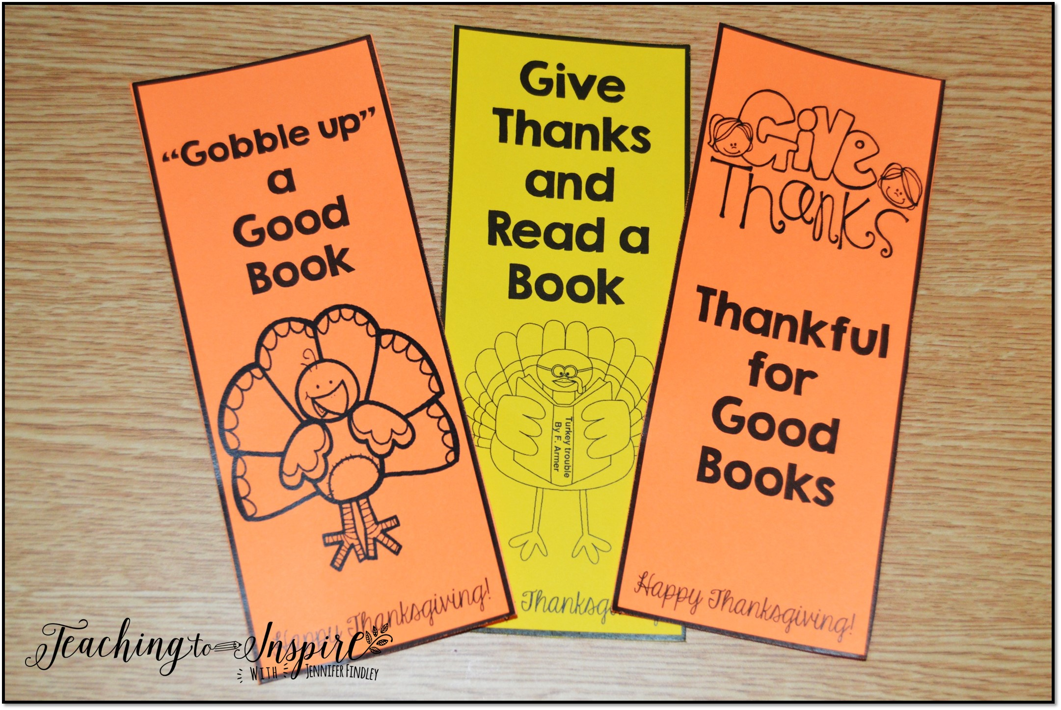 Thanksgiving Activities for Upper Elementary - Teaching to Inspire ...
