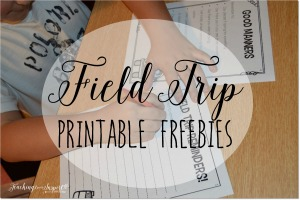Field Trip Activities {Free Field Trip Resources}