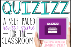 Quizizz {A Self Paced Online Review Game}