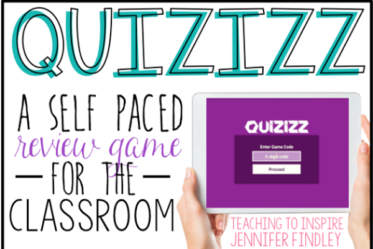 Read about a fun online review website (Quizizz) on this blog post.