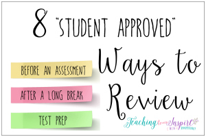 Engaging Ways to Review