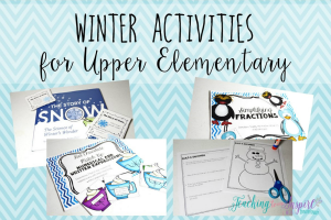 Winter Activities for Upper Elementary