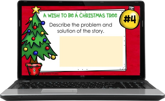 Free digital and printable Christmas reading activities to go with Christmas picture books and read alouds.