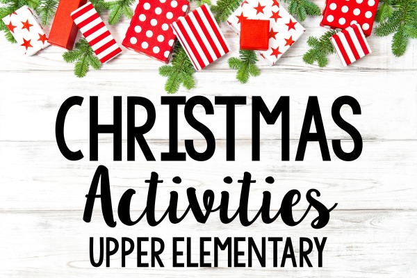 Embrace your students' excitement about Christmas with these Christmas activities for grades 4-5, including math, science, and reading! Freebies included!