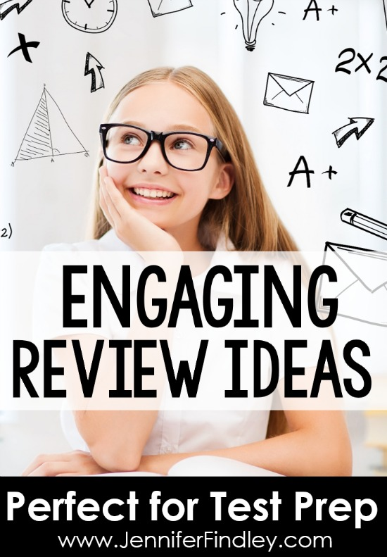 "Review can be engaging, rigorous, sometimes even ""fun"". Read this post for engaging ways to review that are student approved and easy prep. These are great to mix up your text prep review."