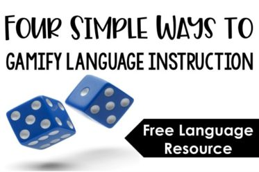 Language and grammar instruction can get routine and monotonous very easily. Read about four ways to easily gamify your language instruction and grab a freebie!