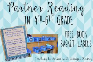 Partner Reading in Upper Elementary