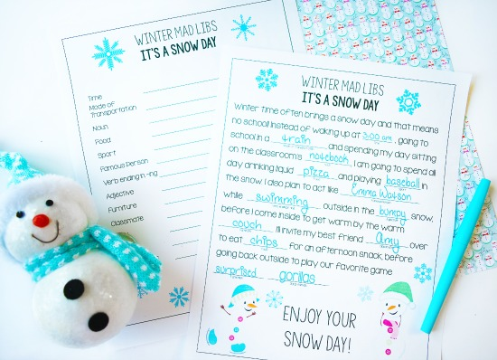 Free Christmas language activity!