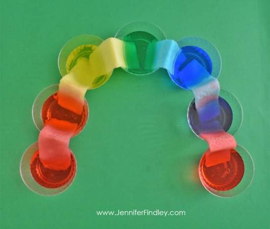 The Walking Rainbow demonstration is a perfect St. Patrick's Day science activity. Get all the details including a free reading passage on this post.