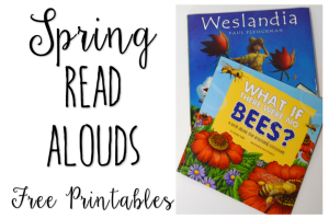 Spring Read Alouds for Upper Elementary