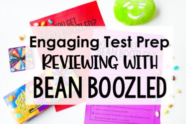 Want a new fun test prep activity that your students will go crazy over? Try Bean Boozled! Get all of the details and free printable directions to implement Bean Boozled Test Prep in your classroom!