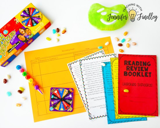 Want a new fun test prep activity that your students will go crazy over? Try Bean Boozled! Get all of the details and free printable directions to implement Bean Boozled Test Prep in your classroom! Works well for rigorous reading test prep!