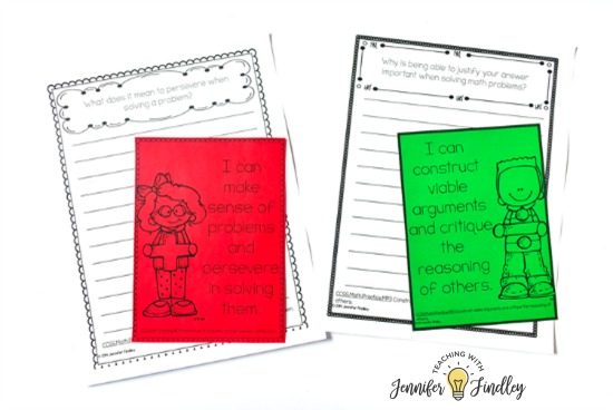 FREE Math Journal Prompts for 4th and 5th grade! Math centers don't have to be only computation or fact fluency practice. This post shares SIX higher level math centers that are perfect for upper elementary, including FREE centers!