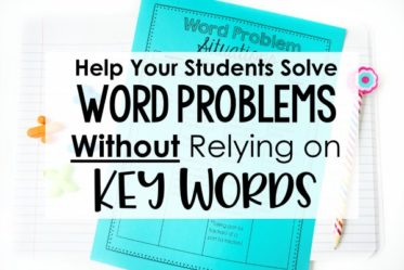 Help your students master word problems (without using key words) with this lesson idea and free printables that teach students to understand word problems conceptually.