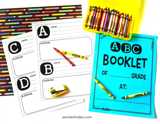 This FREE A to Z booklet is a perfect literacy activity for the end of the year. Grab the freebie on this post.