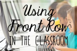 Front Row: Free Math + ELA Practice for Your Students!