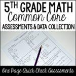 5th Grade Math Assessments