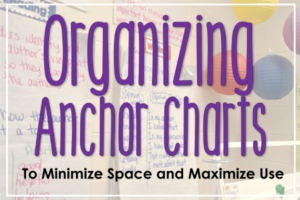 Organizing Anchor Charts
