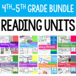 Reading units for teaching 4th and 5th grade reading.