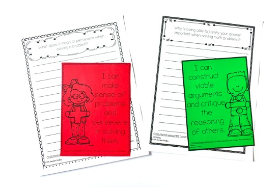 FREE Math Journal Prompts! Math journal prompts are a great way to get your students writing in math. Read more tips and grab freebies on this post.