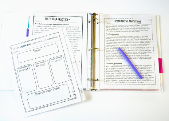 Read how one teacher teaches reading in 5th grade using mentor text read alous, common passages like these main idea passages, and guided reading.