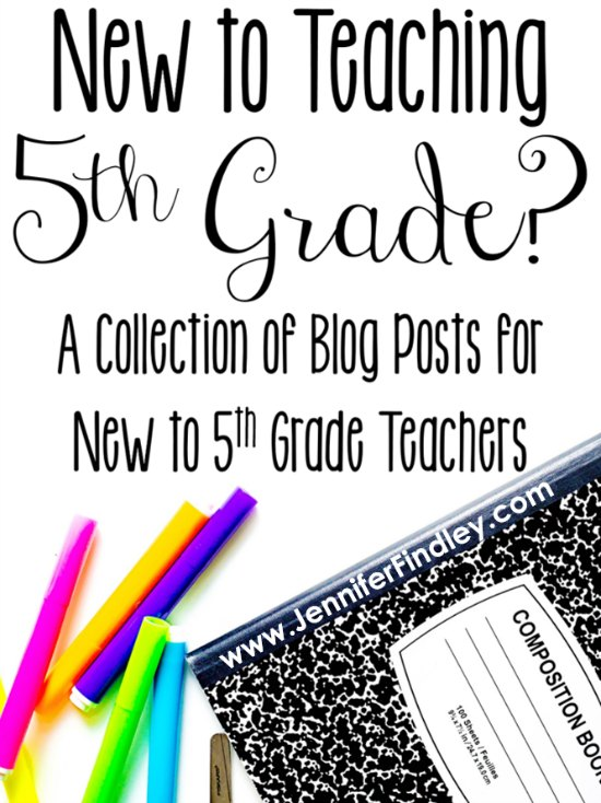 If you are new to teaching 5th grade, you will definitely want to check out this post for tips, ideas, and resources for teaching 5th grade.