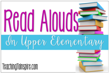 Read alouds in upper elementary grades are so powerful for engagement and mastery of reading skills. Read reasons why read alouds are beneficial and tips for implementing these in your classroom on this post.