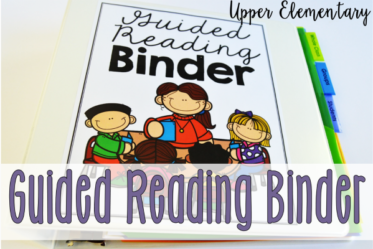 Guided Reading Binder for Upper Elementary {Free Forms}