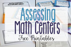 Assessing Math Centers