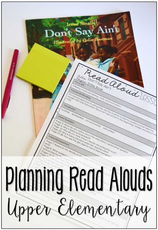 Read alouds are a great way to build community, expose students to a variety of text, and to teach reading skills. Click through to read how to plan for read alouds to maximize instructional impact and increase student engagement.