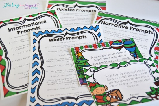 Students love seasonal and holiday writing topics. Click through to read more ways to get your students to love writing.