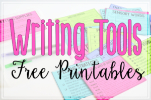 Writing Toolkits (Free Writing Resources for Upper Elementary)