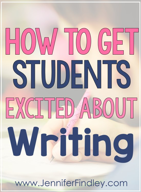 This post shares practical and realistic tips to help teachers get students excited about writing and enjoying it. Must read for writing teachers!