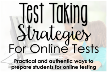 Preparing students to take online tests does not have to be difficult or frustrating. This post shares multiple and authentic online testing strategies.