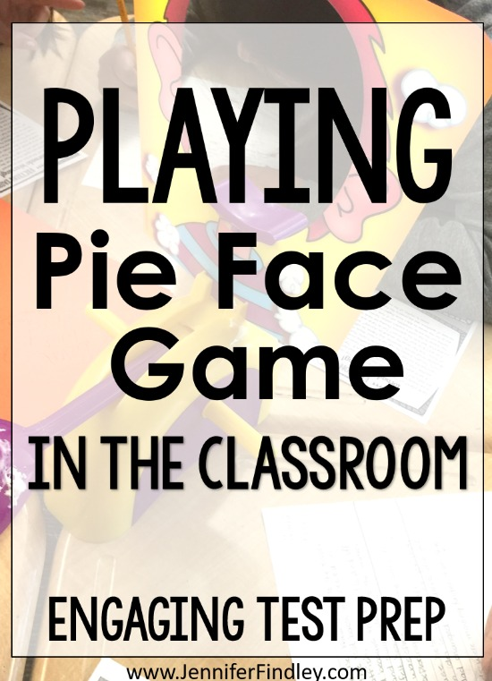 Want to incorporate the popular Pie Face game into your instruction? Grab a couple sets of the game and some rigorous review questions for some engaging test prep that your students will beg to do again. Read more on this post.
