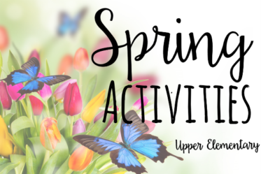 April and May are the perfect months to incorporate engaging and rigorous spring activities to motivate your students (and sneak in some test prep). This post shares several freebies and other resources for upper elementary.