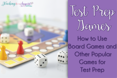 This post shares details of how you can use any board game or other popular games as test prep games that are highly engaging and motivating.