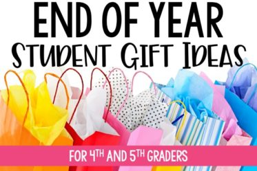 End of year student gifts that are practical, time-saving, and won't break the bank on this post.