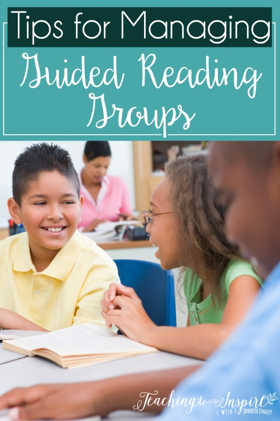 Guided reading is a super powerful means of reading instruction. This post shares tips for guided reading management in upper elementary classrooms.