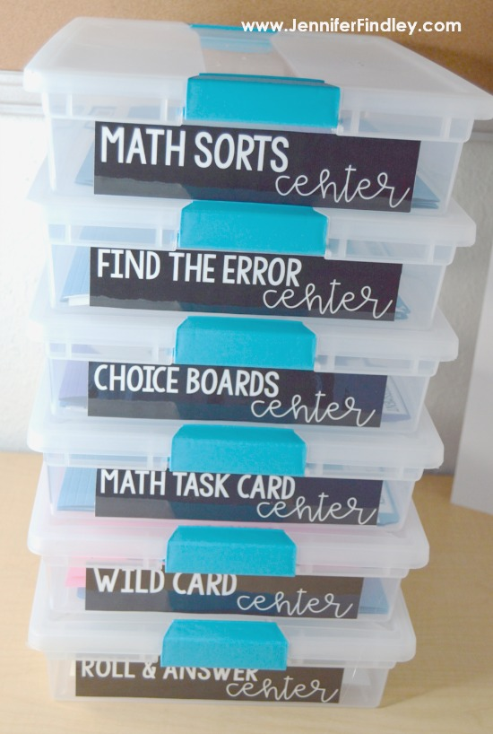 Tips for launching guided math centers and free guided math centers starter packs on this post.